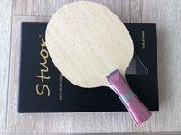Kohlefasertisch Tennisschläger 7 Schichten Langer Griff Kurze Griff Horizontal Grip Tennis Tisch Paddel Klinge Gummi