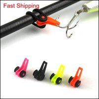 Boat Rods Sports & Outdoorsmultiple Color Plastic Rod Pole Hook Keeper Lure Spoon Bait Treble Holder Small Fishing Aessories Is0301 Drop Del