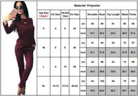 Women's Two Piece Pants 2PCS Set Women Lace Up Solid Tracksuit Lounge Wear Ladies Sports Gym Tops Suit Sportswear Casual Slim Fit Sweatshirt