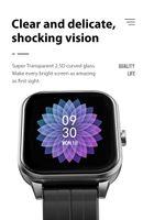 S5 Smart Watch Heart Rate Fitness Tracker BT Call Wristband Men Women Blood Pressure Monitor Waterproof Sport Smartwatch