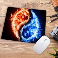Mouse Pads & Wrist Rests Fashion Fire Pattern Printing Mousepad Rubber Rectangle Computer Notebook Mice Mat Gamer Speed Pad 220*180*2MM