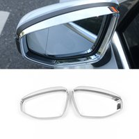 CarMango for Audi A3 8Y 2020-2021 Car Stickers Accessories Side Rearview Mirror Cover Chrome Case Sticker Frame Exterior Decoration
