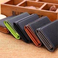 Fashion Leather Wallets Men Card Holder Minimalist Brand Designer Coins Holders For Hasp Purse1