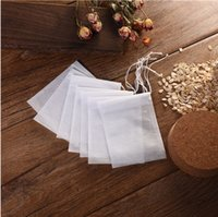 200PCS 5x7CM Disposable Tea Bags Scented Non-Woven Empty Scented Drawstring Seal Filter Cook Herb Spice Loose Coffee Pouch