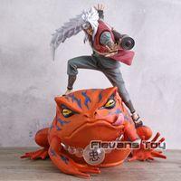 Sapo Sage Jiraiya Boss Gamabunta PVC Figura Brinquedo Coleção Modelo Imagem