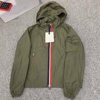 021 veste designeur pour hommes vestes de la rue Hip Hop Street Mode Luxe Fermeture à glissière longue manches longues couple de couple à capuche à capuche
