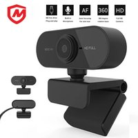 1080p Full HD USB Computer Webcam Built-in Microfone Network Transmissão Internet Celebridade WebCamera PC Camera Live Conferência