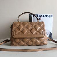 Donne Designer Designer Borse 2021 Borse di alta qualità Real in pelle Crossbody Bag Growbody Soft Maniglia Top Maniglia Satchel Argento catena