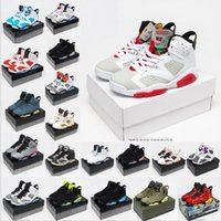 Chaussures 6 VI Homme infrarouge Basketball Jumpan Black Unc 6s entraîneurs Haut Haut Hoops Britannique Khaki Carmine Travis Rétro Tech Mens Hare Chro Xmnx