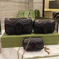 Designer Handtaschen Luxusmarke Umhängetasche Kette Damen Mode Klassische Messenger Hand zur Verbesserung der Qualität mit Kasten