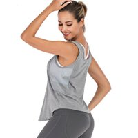 Zhangyunuo deportes yoga femenino fitness cultivo top gimnasio entrenamiento camisetas sin mangas chaleco correr ropa de entrenamiento para mujeres