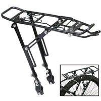 합금 리어 자전거 PANNIER 랙 캐리어 가방화물주기 마운틴 자전거 블랙 자동차 트럭 트럭 랙