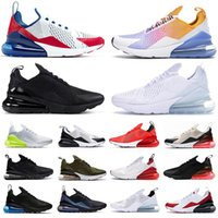 270 react shoes BAUHAUS white Blue React men running shoes OPTICAL triple black mens trainers breathable sports outdoor sneakers 40-45