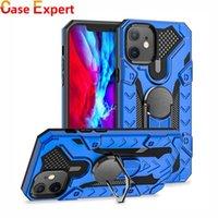 Hybrid Defender Kickstand Metal Ring Cases for iPhone 12 11 Pro Max XR XS Samsung A10S A20S A21S A51 A12 A32 A52 A72