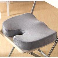 Coussin / oreiller décoratif Cammitever Pure Memory Mousse Coussin de siège de luxe, design orthopédique pour soulager la mer de la sciatica et de la sciatique