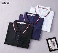 Designer Mens Monclair Polo shirts Frauen T-shirts Mode Kleidung Stickerei Brief Business Kurzarm Calssic Tshirt Skateboard Casual Tops T Shirts 2025