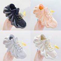 Moda Bambini Atletica Scarpe da esterno Toddlers Teen Baby Bambini Soft Comfort Comfort Casual Lace Sneakers Traspirante Ragazzi Ragazze Running Sportsshoes Dimensione 27-37
