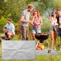 Grillmatte Non Stick BBQ-Liner Ofenfolie Barbecue Liner Wiederverwendbare Werkzeuge Zubehör # 40 Zubehör