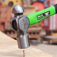 Attrezzi a mano 1 PC Palla Palina Penen Resistente al martello Manico antiscivolo in fibra di vetro per metallo Rivet Chisel Punch
