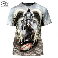 Plstar Cosmos Knights Templar 3D Печатные футболки Мужчины для женщин Повседневная короткая рукава летняя уличная одежда футболка для падения 210409