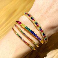 Designers criativos moderamento high-end Acessórios de pulseira cheio de diamante banhado real ouro mão jóias mulheres brb90