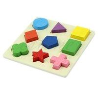 Montessori Ahşap Matematik Oyuncaklar Renkli Kare Şekil Bulmaca Oyuncak Erken Eğitim Öğrenme Çocuk Oyuncak Çalışma Chrismas Hediye Çocuklar için