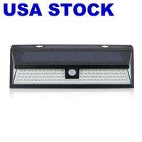 مصابيح الطاقة الشمسية مصابيح الجدار في الهواء الطلق بدعم استشعار الحركة الإضاءة مع 118 LED، ماء اللاسلكية الأمن الفناء ضوء شارع 270 ° شعاع زاوية للحديقة، الباب الأمامي، ساحة