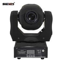Shehds良い価格ミニスポット60W LEDの移動ヘッドライトGobo Platecolorプレート、高輝度DMX512