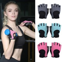 Five Fingers Gloves Women Fitness Half Finger Thin Breathable Mesh Training Gym Weightlifting Yoga Anti Slip Padded Sports Mittens
