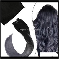 Other Products Drop Delivery 2021 Micro Beads Wefts Straight Beaded Brazilian Indian Malaysian Virgin Human Hair Extensions 14-24 Inch 50G Pc