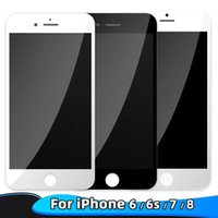 High Brightness Grade A +++ For iPhone 5S 6 6S 7 7 Plus 8 8 Plus LCD Display Touch Screen Digitizer Assembly & Free DHL