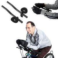 Bike Handlebars &Components Bicycle Rest Handlebar Clip On Aero Bars Extension Triathlon MTB Road Cycling