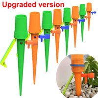6 12 18PCS Auto Drip Irrigation Watering Equipments Automatic Water Spike for Plants Flower Indoor Household Waterer Bottle Garden Supplies