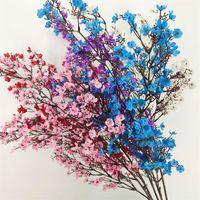 Шелковые гипсофилы искусственные цветы для украшения дома пластиковый стебель невесты свадебный букет вишневого цветения поддельный цветок 2147 v2