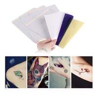 100 Yaprak / grup Dövme Transferi Kağıtları A4 Boyutu Dövme Termal Fotokopi Şablon Kağıtları Dövme Transfer Makinesi Aksesuarları için J022 Ücretsiz DHL