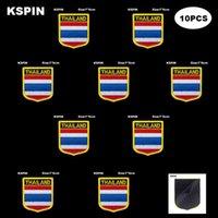 العلم الوطني التصحيح هوك حلقة تايلاند شارات شارة 3d عصا على سترة الظهر ملصقات