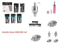 Innokin Bobina para Iclear 16 Clearomizer Reemplazo Dual Iclear16 Atomizer Head 1.8Ohm / 2.1ohm En stock