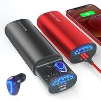 Jakcom TWS2 Gerçek Kablosuz Kulaklık Güç Yeni Ürün Cep Telefonu Güç Bankalar Match 10400 MAH 1000 W Power Station 2600mAh için Maç