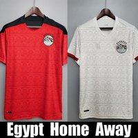 Egitto Soccer Jersey National Team Home Away M Salah Kit di calcio Maillot de Foot Salah 10 Camisetas Futbol Top Tailandia qualità 20 21