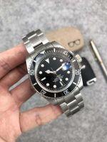 Relógio automático dos homens mecânicos 40mm boutique 2813 Designer de esportes de cinto de aço inoxidável pode adicionar a fivela glide