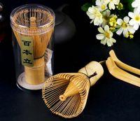 Moda Doğal Bambu Çırpma Yeşil Çay Toz Için Hazırlama Chasen Fırça Aracı Matcha SN1146 P2DA