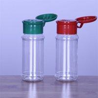 Boş Plastik Baharat Şişeleri BARBEKÜ Baharat Tuz Biber Saklamak için Set, Glitter Çalkalayıcılar Şişeler 60 ml / 2 1963 Y2
