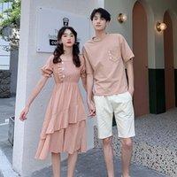 Women's T-Shirt 2021 Couples Dress Men Suit Clothes Clothing