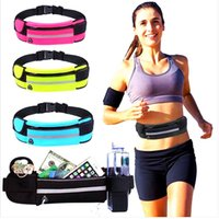 Outdoor Sports Waist Fitness Running Bag Party Favor Sweat-Absorbent Anti-Theft Mobile Phone Storage Personal Men's Bags