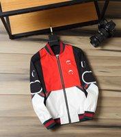 Kıdemli Tasarımcı erkek Ceket Avrupa ve Amerika 21ss Erkek Bahar Sonbahar Motosiklet Fermuar Uzun kollu Hoodies Yüksek Kalite Moda Eğlence Kış Rüzgarlık Ceket