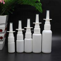 Spruzzo nasale vuoto 10ml 15ml 20ml 30ml 50ml Bottiglie di plastica 50ml Pompa spruzzatore bianco F995goods