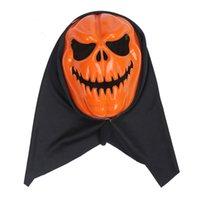 Halloween Calabaza Divertida máscara de horror Plastic Ghost Festival Bar Fiesta de baile Party Accesorios de actuación