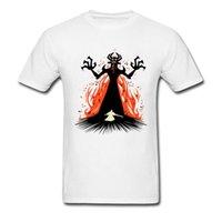 Erkekler Moda Yenilik Tshirt Şekli Shifting Karanlığın Usta T Gömlek Gelecek Erkekler Kısa Genç Kurt Tam Film Giysileri 210420