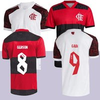 21 22 Flamengo Futbol Jersey Guerrero Diego Henrique Spor Formaları 2021 2022 Flaman Gabriel B Futbol Gömlek