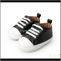 Baby, Kids & Maternity Born Infant Toddler Girl Pu Sneaker Baby Boy Sport Shoes Non-Slip Footwear Crib First Walkers Moasins Drop Delivery 20